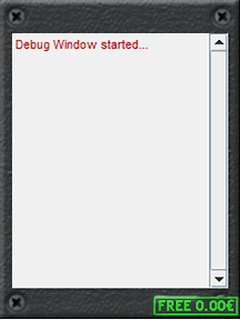 Debug Window 216x288
