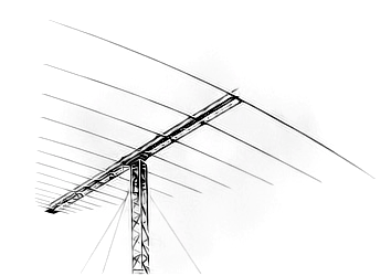 Log Periodic 8-band antenna (10-40m)