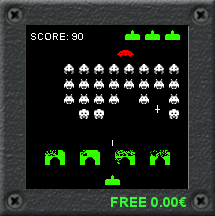 Space Invaders 216x216