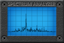 Spectrum Analyzer Blue 216x144